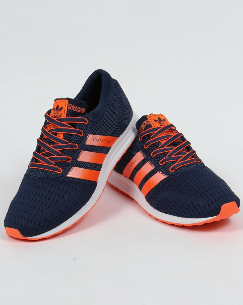 new concept 50b7a 31357 Adidas Los Angeles Trainers Mineral BlueSun Glow