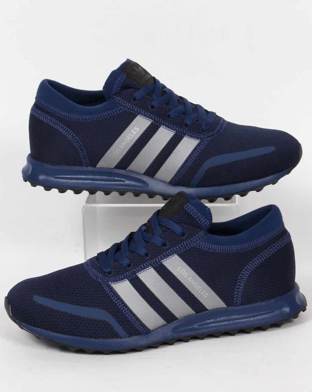 forma frotis Escupir  Adidas Los Angeles Trainers Mystery Blue,originals,shoes,mens