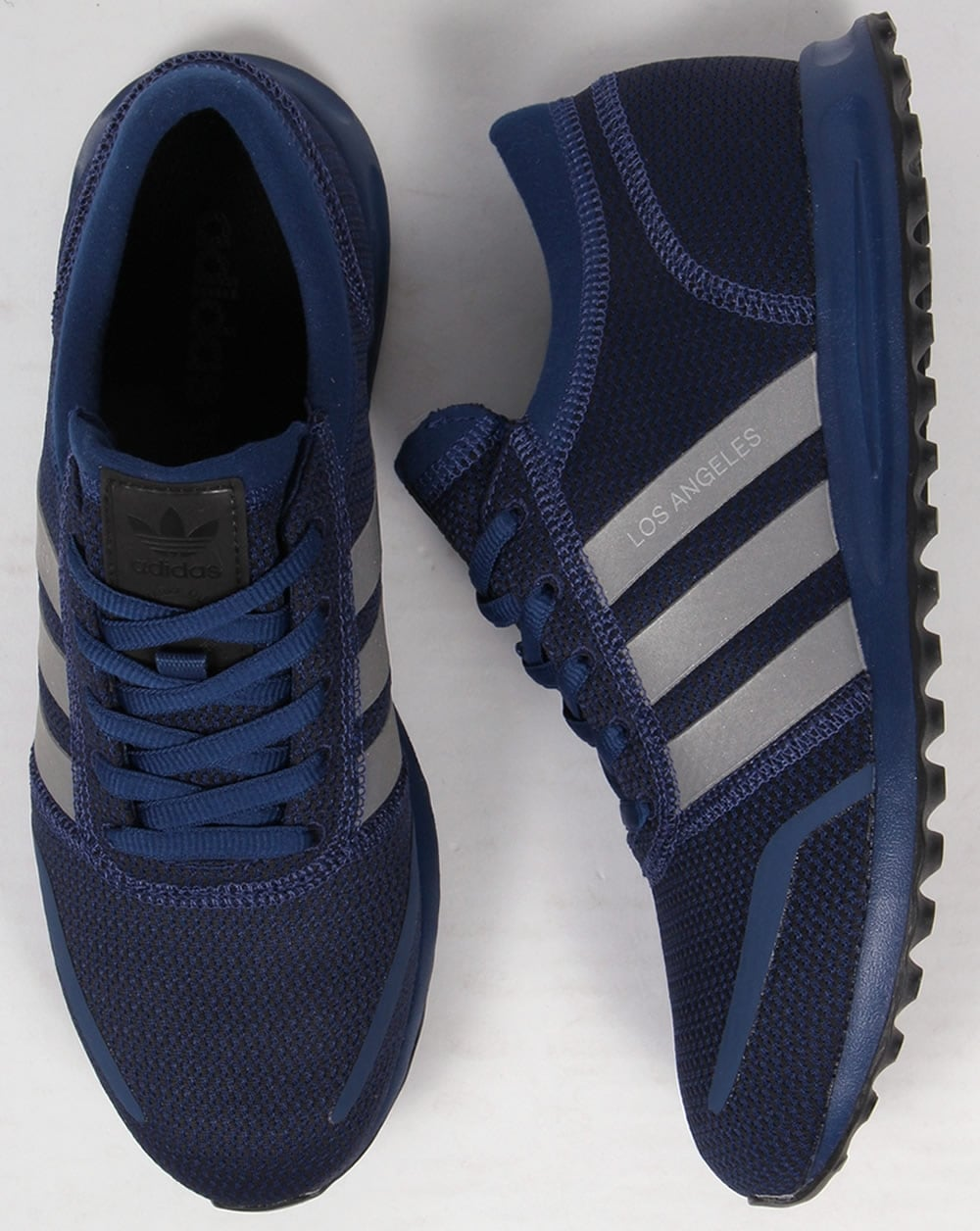 info for 23807 00227 Adidas Los Angeles Trainers Mystery Blue