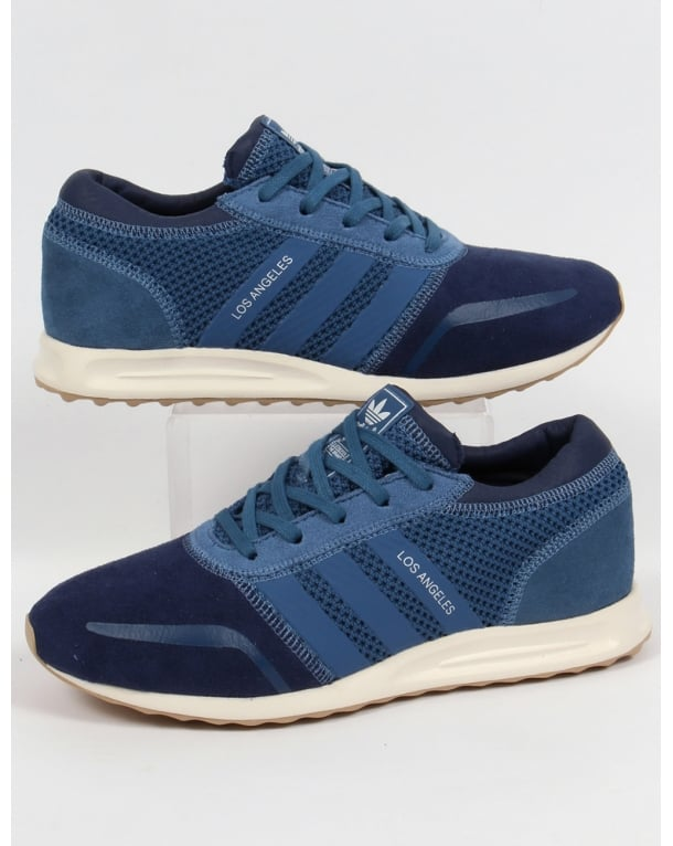Adidas Los Angeles Trainers Navy/Ash Blue/Indigo