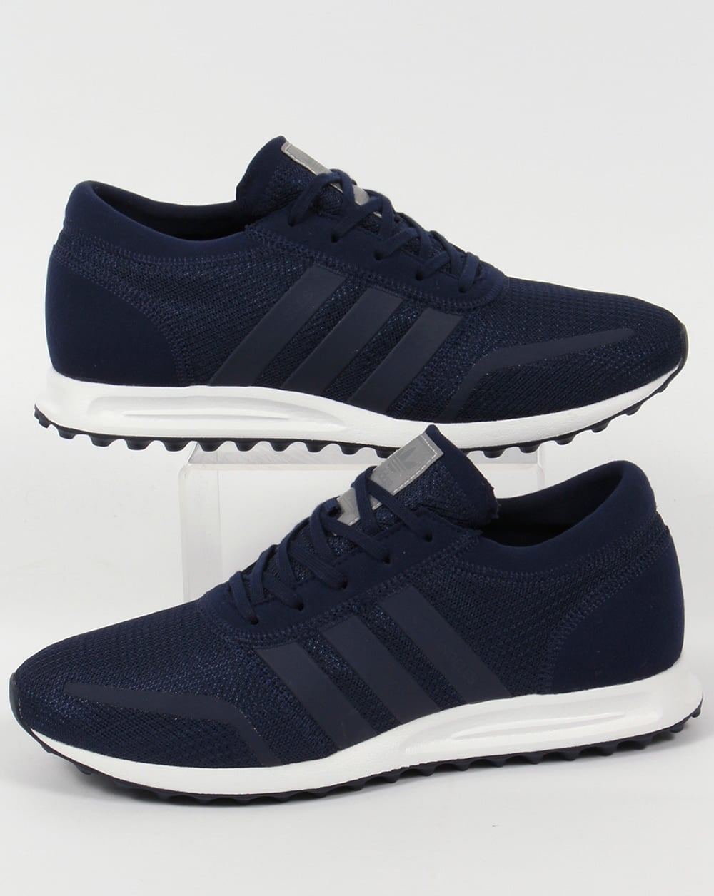adidas los angeles trainers navy blue originals shoes mens. Black Bedroom Furniture Sets. Home Design Ideas