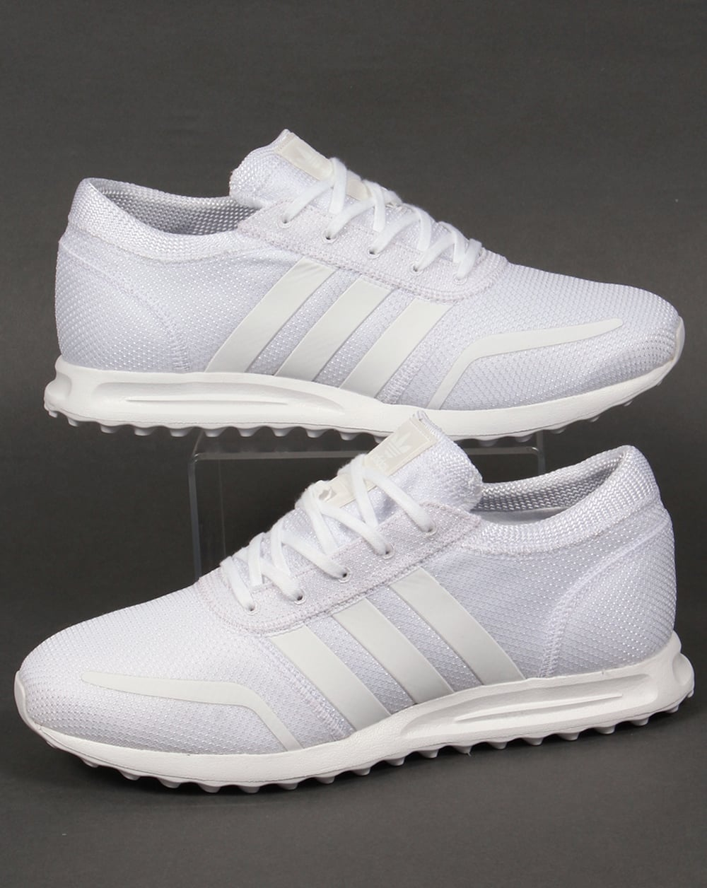 reputable site 44ae1 7e1af adidas Trainers Adidas Los Angeles Trainers Pure White