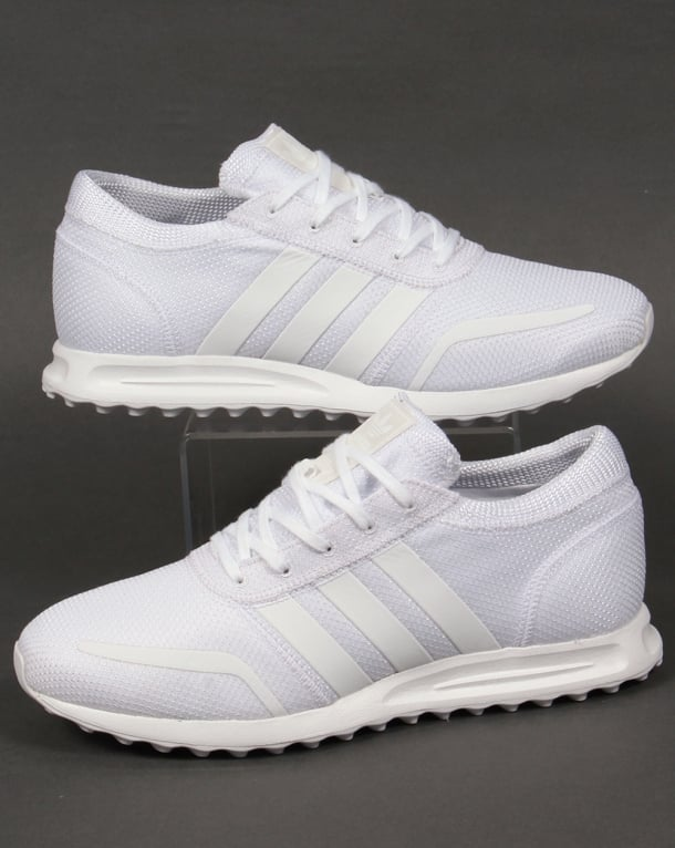 Adidas Los Angeles Trainers Pure White