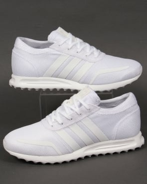 Adidas Trainers Adidas Los Angeles Trainers Pure White