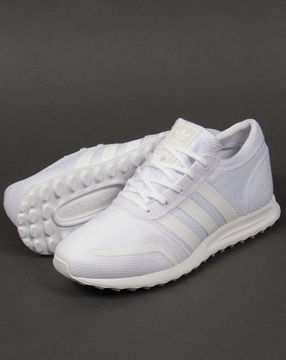 on sale bebcd ed719 Adidas Los Angeles White Trainers