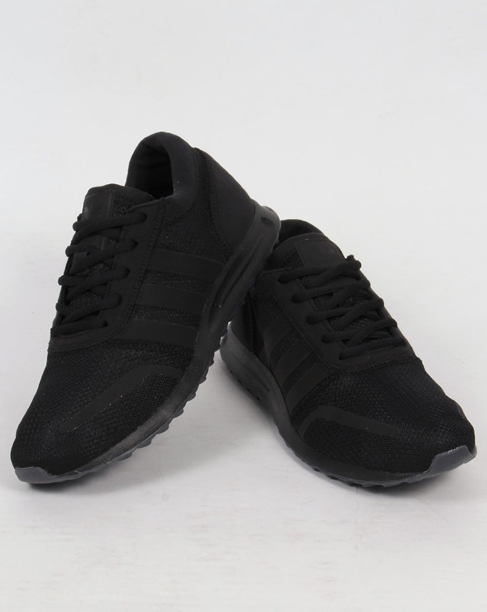 Adidas Los Angeles Trainers Triple Black,originals,mens,retro