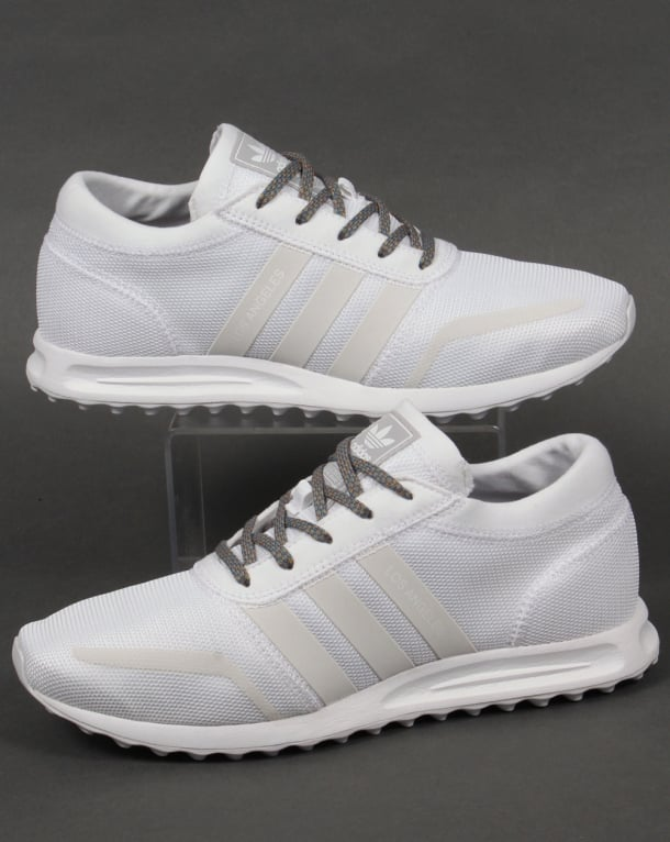 Adidas Los Angeles Trainers White/White/Grey
