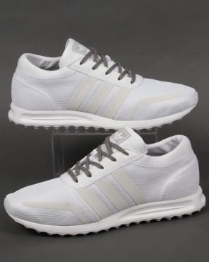 Adidas Trainers Adidas Los Angeles Trainers White/White/Grey