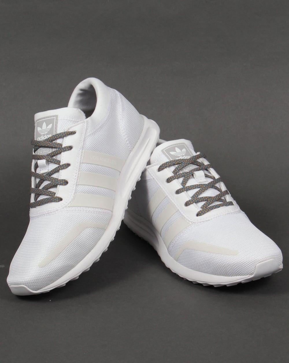 Adidas Los Angeles Trainers White/White/Grey,originals ...