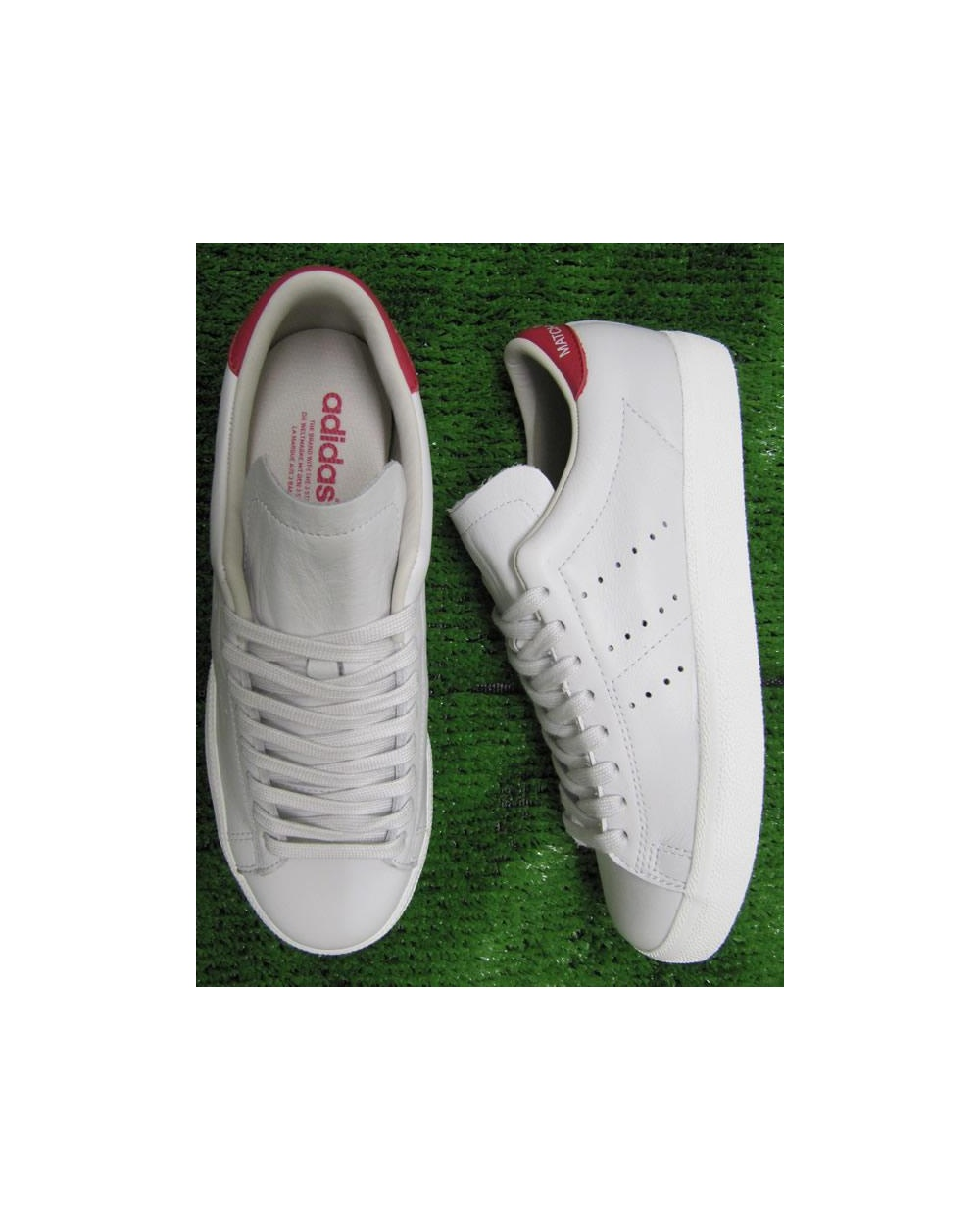 Neo White Navy Red Adidas: Adidas Match Play Trainers Neo White/red, Originals