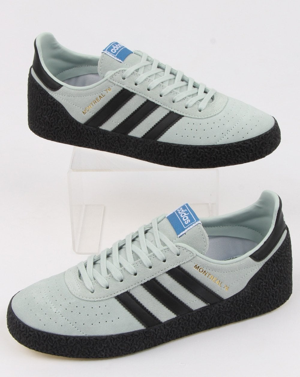 best sneakers a8888 8e2e5 adidas Trainers Adidas Montreal 76 Trainers Mint Green black