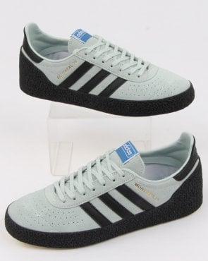 adidas Trainers Adidas Montreal 76 Trainers Mint Green/black