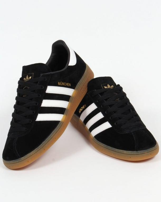 perdonar Desnudo Halar  Adidas Munchen Trainers Black/White,shoes,originals,mens