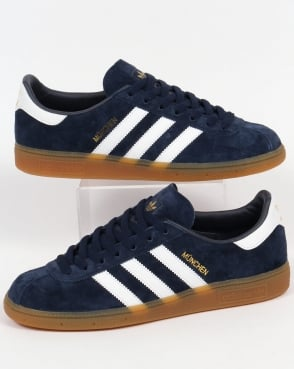 Adidas Trainers Adidas Munchen Trainers Navy/White