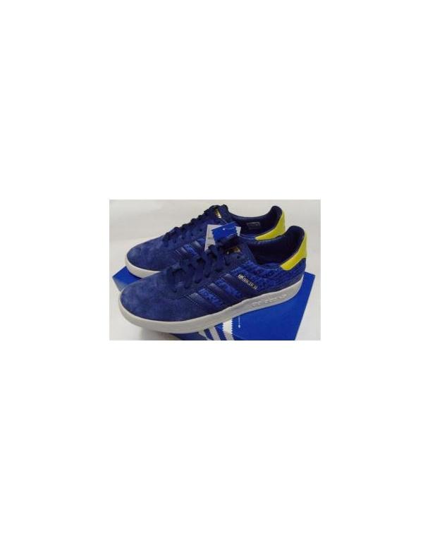 Adidas Munchen Trainers Navy/Yellow