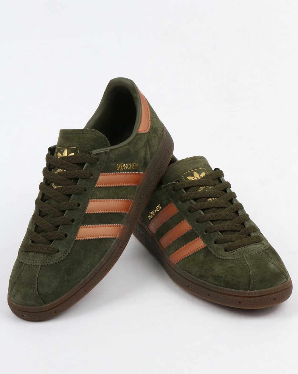 new arrival incredible prices best prices Adidas Munchen Trainers Night Cargo/Bronze