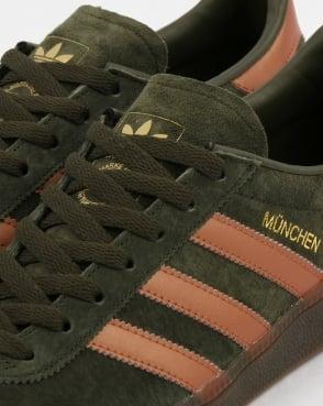 adidas Trainers Adidas Munchen Trainers Night Cargo/Bronze