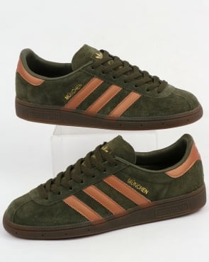 adidas Trainers Adidas Munchen Trainers Night Cargo/Bronze