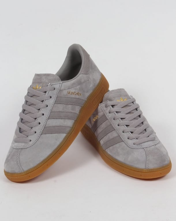 Adidas Munchen Trainers Light GreyMid