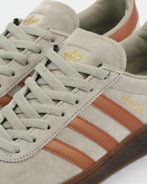 adidas Trainers Adidas Munchen Trainers Soft Grey/Bronze