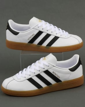 Adidas Munchen Trainers White/Black