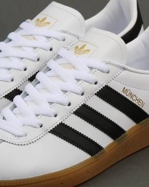 adidas Trainers Adidas Munchen Trainers White/Black