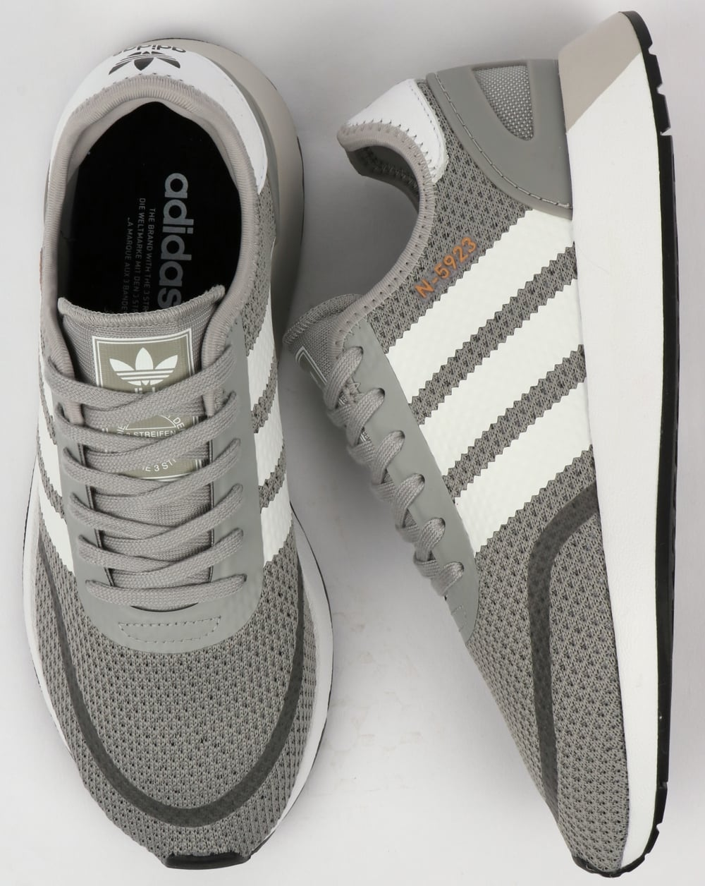 intersección recoger Inconcebible  Adidas N-5923 Trainers Solid Grey/White,iniki,runner,70s,shoes,originals