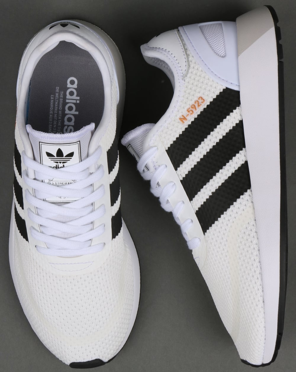 bee862062da2c Adidas N-5923 Trainers White Black