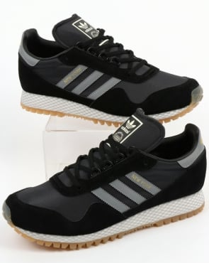 adidas Trainers Adidas New York Trainers Black/Grey