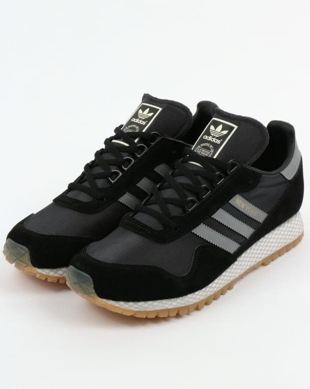 adidas new york trainers black