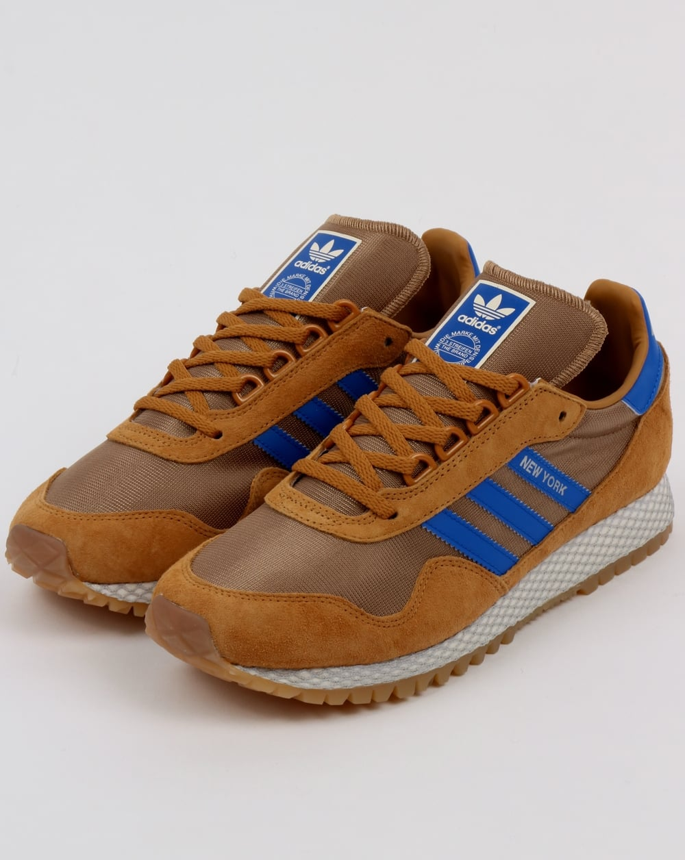 Brown New York Adidas Shoes