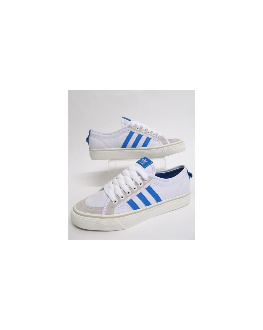 best service cb3f9 b63f4 adidas Trainers Adidas Nizza Low 78 Trainers White vapour Blue
