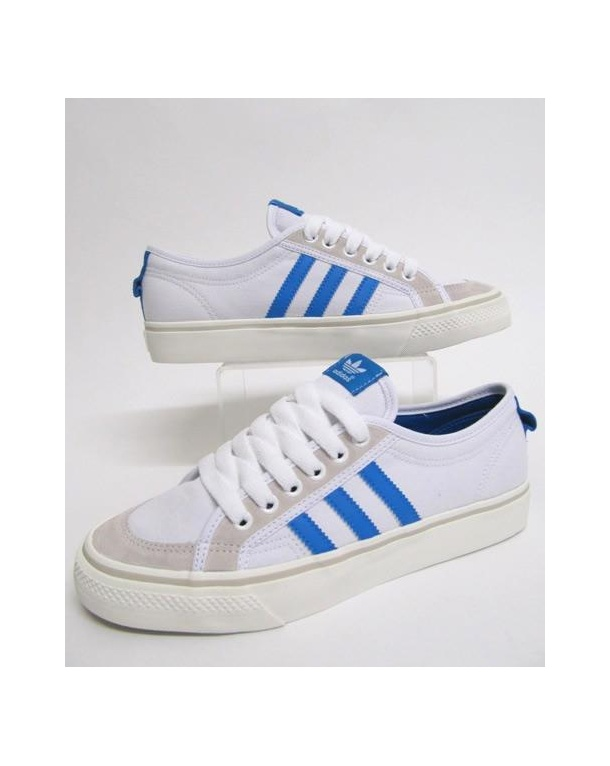 Adidas Nizza Low 78 Trainers White/vapour Blue