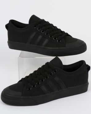 adidas Trainers Adidas Nizza Trainers Black