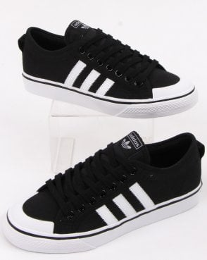 adidas Trainers Adidas Nizza Trainers Black/white