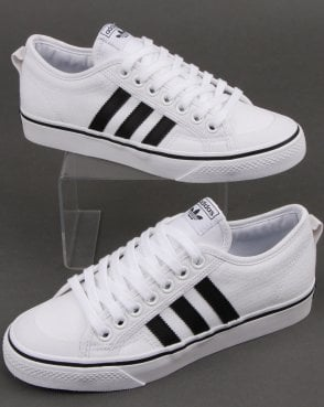 adidas Trainers Adidas Nizza Trainers White/black