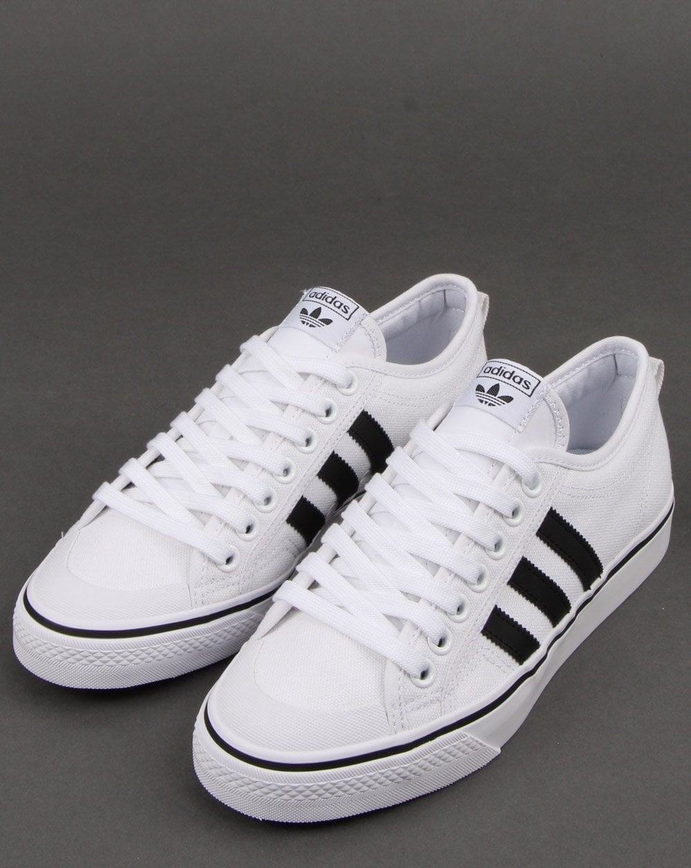 Adidas Nizza Trainers Whiteblack