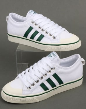 adidas Trainers Adidas Nizza Trainers White/Green