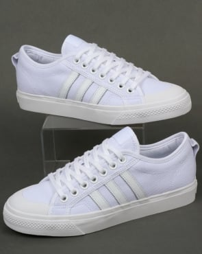 adidas Trainers Adidas Nizza Trainers White