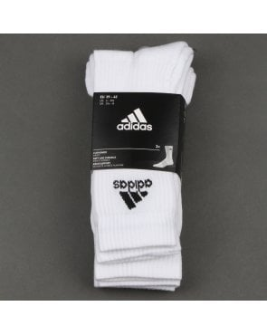 Adidas Originals 3 Pack Stripe Socks White/white/black