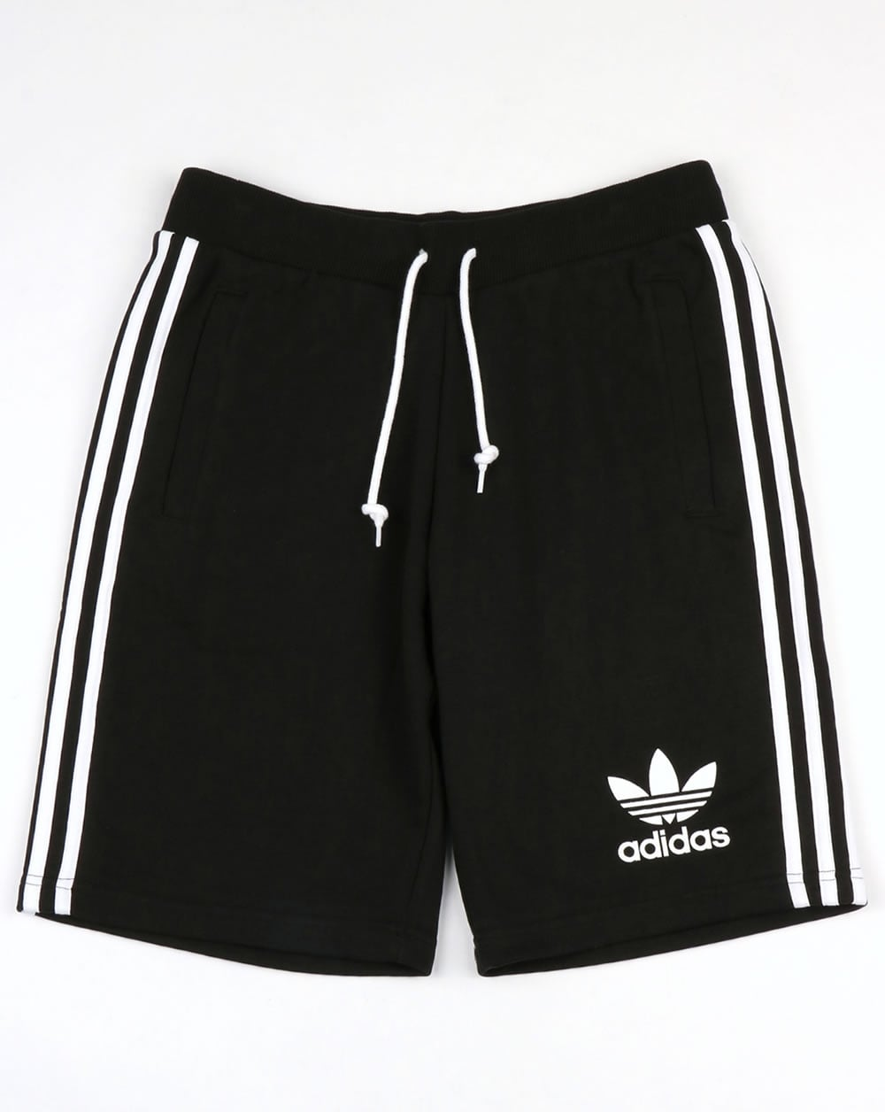 7796ec5fda67 adidas Originals Adidas Originals 3 Striped Shorts Black White