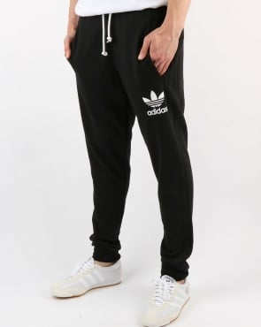 Adidas Originals 3 Striped Track Pants Black