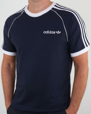 Adidas Originals 3 Stripes Cali T Shirt Legend Ink