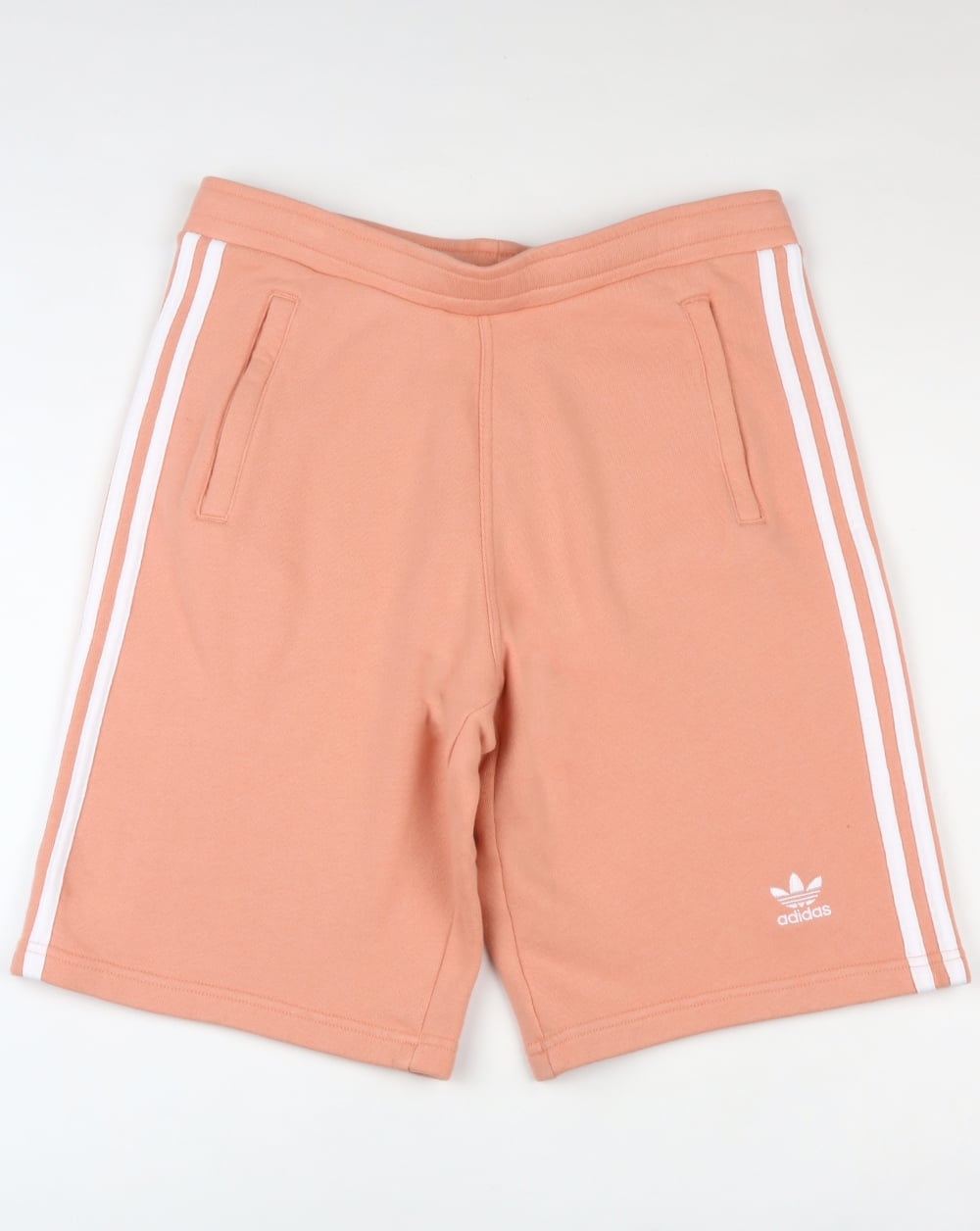 e115881f537be Adidas Originals 3 Stripes Shorts Dust Pink,cotton,terry,toweling ...