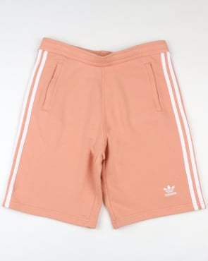 Adidas Originals 3 Stripes Shorts Dust Pink