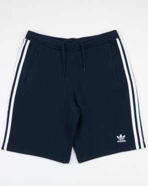 Adidas Originals 3 Stripes Shorts Navy
