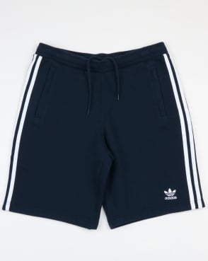 Adidas Originals 3 Stripes Shorts Navy