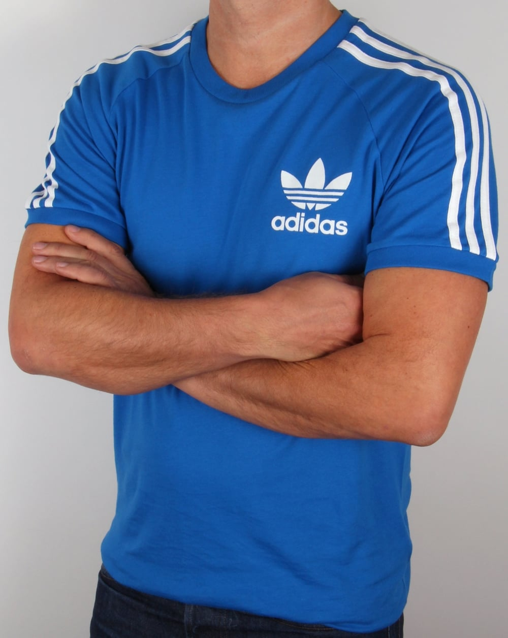 Bluebird T Blue shirt Originals Adidas 3 Stripes v4O8q7n4