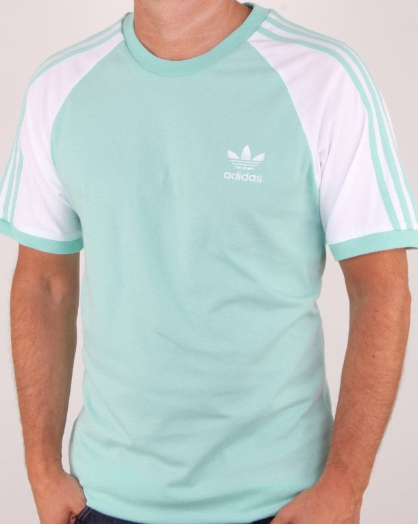 Adidas Originals 3 Stripes T Shirt Clear Mint