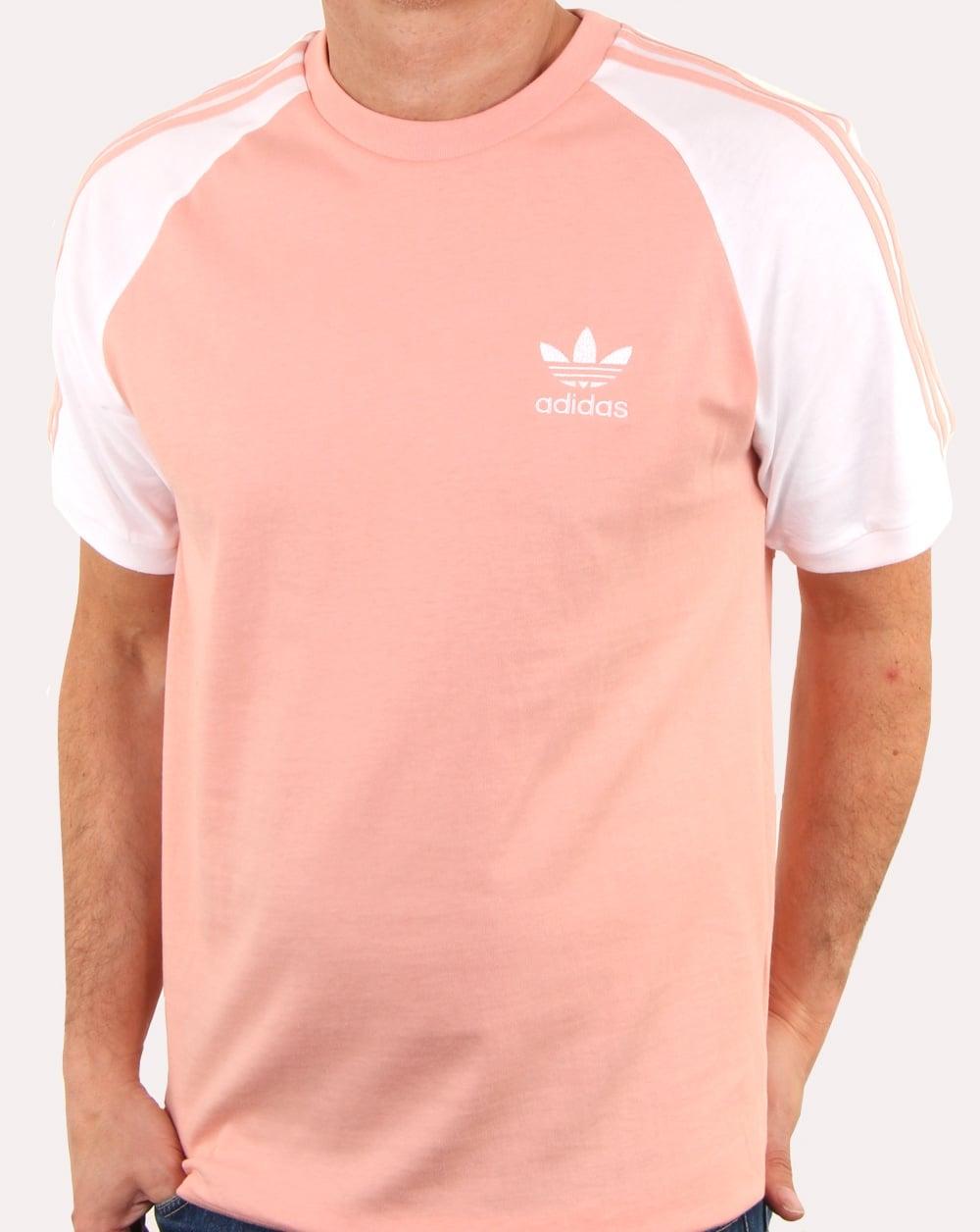 Adidas Originals 3 Stripes T Shirt Dust Pink